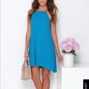 Lulu's Blue Dress- NWOT